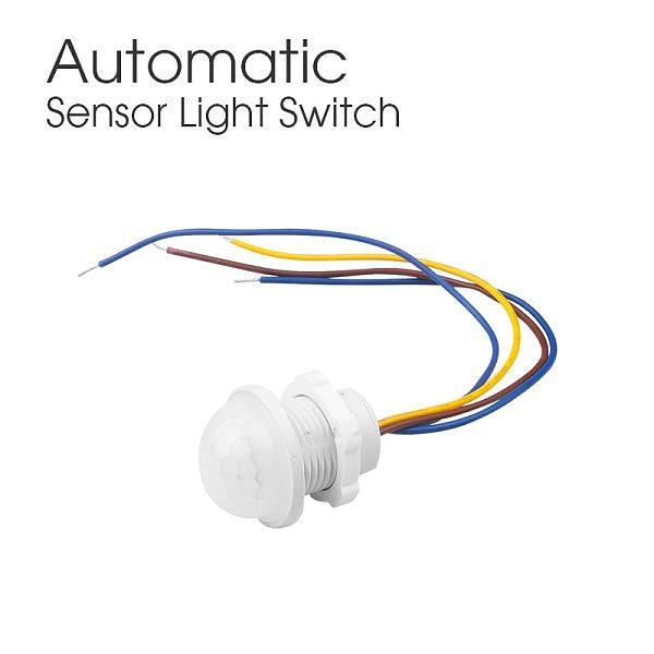 Hot Light Switch PIR Sensor Detector Smart Switch LED 110V 220V PIR Infrared Motion Sensor Switch Auto On Off