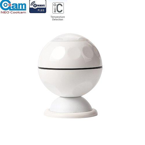 NEO COOLCAM Z-wave Plus PIR Motion Sensor +Temperature Home Automation Z wave Alarm System Motion Sensor EU 868.4MHZ
