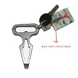 Topvico Self Defense Supplies Protection Tool Weapons Personal Self Defence Stainless Steel Bottle Opener Combination Wrench