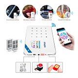 KERUI W18 1.7 Inch TFT Screen WIFI GSM Tuya Smart Home Garage Burglar Security Alarm System Motion Detector Smoke Door Sensor