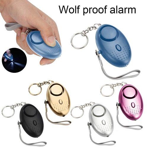 Self Defense Alarm 120dB Security Protect Alert Scream Loud Emergency Alarm Keychain Personal Safety For Women Child Elder Girl