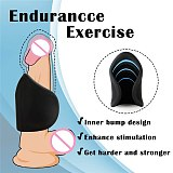 Smart Pulse Penis Exercise Reduce Sensitivity Medical Silicone Material Male Masturbation Sex Toys For Men Adult Sex Products