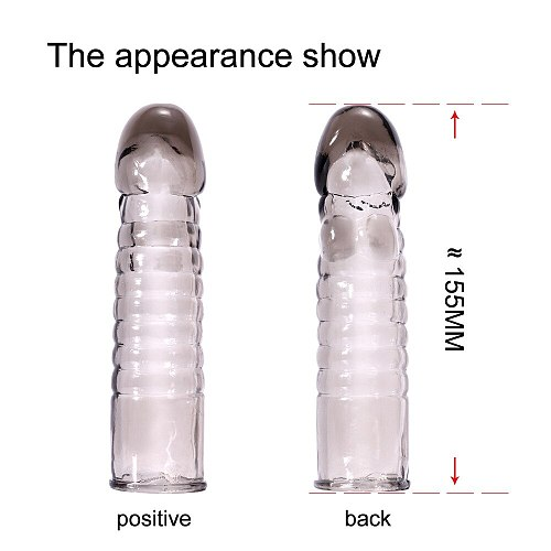 Sex Toys Crystal Cases Male Condoms Adult Products Spike Sets