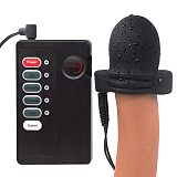 Electric Shock Glans Vibrator For Men Masturbator Dildo Vibrator Penis Trainer Delay Lasting Trainer Sex Toys For Adult Sex Shop