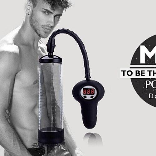 Penis Enlarger Pump Male Masturbation Sex Products Electric Penis Vacuum Pump Cock Enlargement Enhance Penis Long Big Sex Toys
