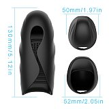 Glans Trainer Massager Toys Adult,Male Automatic Stroking Masturbater Strength Stamina Training Blowjob Oral Simulator for Men