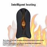 10 Frequency Smart heating Male Masturbator Silicone Masturbation Cup Erotic Adult Toys Penis Trainer Pump For Men Masturbation