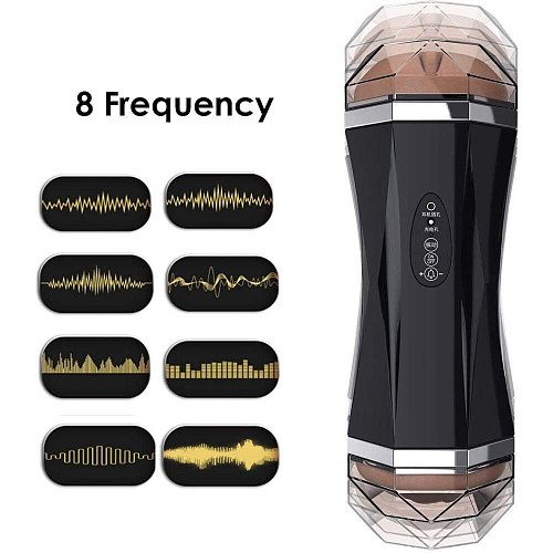 Rechargeable Fully Automatic Piston Vibrating Massager 360 Rotating Electronic Intelligent Pussey Stroker Male's Sucking Tools