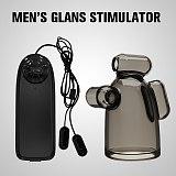 Bullet Vibrator Penis Sleeve Adult Sex Toy For Men Glans Stimulation Massager Male Masturbator Ejaculation Time Delay Trainer