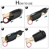Newly Reduce Sensitivity Head Blowjob Massager Upgrade Cock Trainer Improve Men's Durability Makes Your Sexual Process Last Long