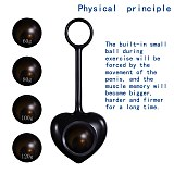 Penis Growth Dumbbell Physical Exercise Penis Stretching Exerciser Enlargement Penisgrowth Traction Device for Men Portable 18+