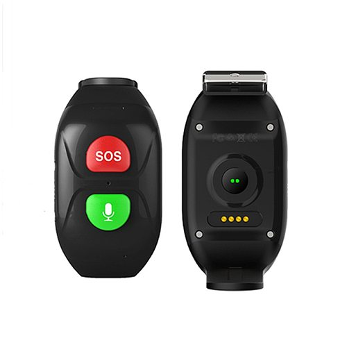 GSM GPRS Elderly SOS Panic Button emergency alarm GPS Real-time tracking heart rate blood pressure monitor