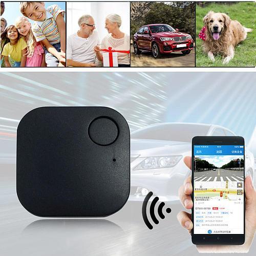 Pet Smart Mini GPS Tracking Device Car Motor Tracker Bluetooth Waterproof GPS Locator For Child Kid Pet Wallet Anti-lost Tracker