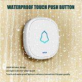 KERUI Doorbell button F52 Waterproof Wireless Touch Smart Receiver Home Gate Security Doorbell panic SOS Emergency button