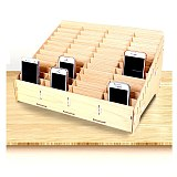 Desktop Mobile Tool Box Storage Phone Repair Management Storage Box For Office School Wooden Pallets Tools Boxs