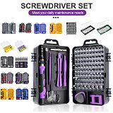 Multi Screwdriver Set (25/32/48/60/112) & 115 in 1 Precision Screwdriver Kit Screw Driver Bit Set Mobile Phone Hand Repair Tools