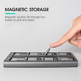 KINDLOV 63 In 1 Screwdriver Set Magnetic Torx Hex Phillips Screw Driver Bits Kit Multifunction Repair Phone PC Laptop Hand Tools