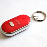 New LED Key Finder Locator Find Lost Keys Chain Keychain Whistle Sound Control PUO88