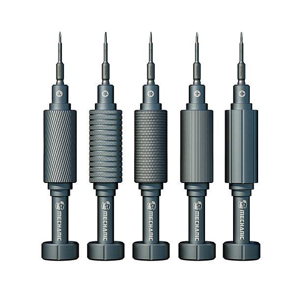 New MECHANIC High Hardness Screwdriver Kit Convex Cross Torx T2 Y0.6 Pentalobe Phillips for Phone Watch  Repair Opening Tool