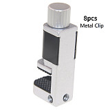 8pcs/Lot Adjustable Metal/Plastic Screen Clip Clamp Fixture Mobile Phone/Tablet Screen Fasten Repair Tools