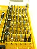 45 in 1 Magnetic screwdriver set screwdriver kit set screwdriver phone computer repair tool 45 bits+ extension bar tweezer