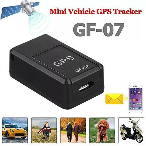 Kids Mini Magnetic GPS Car Tracker Elder GPS Locator Smart Car Tracker Anti-Lost Recording Tracking Device Voice Control