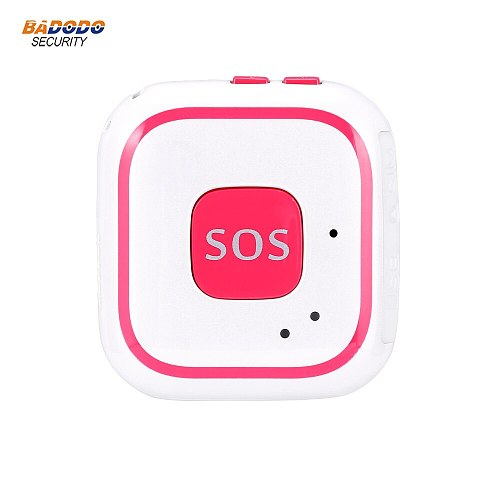 GSM GPRS Elderly senior SOS Button emergency alarm V28 Fall alarm Real-time tracking two way talking Geo-fence for elderly care