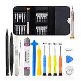 22 in 1 Mobile Phone Repair Tools Opening Screwdriver Set for iPhone iPad Laptop Computer Disassemble Hand Tool Set Opening Tool