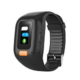 GSM GPRS Elderly SOS Panic Button Emergency Alarm GPS Real-Time Tracking Heart Rate Monitoring