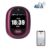 IP67 Waterproof 4G 3G GSM GPRS SOS Button Emergency Alarm Real-time GPS Tracking Two Way Talking