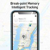 Baseus Wireless Smart Tracker Anti-lost Alarm Tracker Key Finder Child Bag Wallet Finder APP GPS Record Anti Lost Alarm Tag