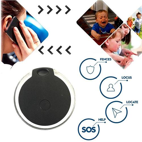 Smart Mini Bluetooth Gps Anti-lost Waterproof Tracer Kids Design Ultra-thin For Pet Keys Cat Alarm Automatic Trackers Dog U7I9