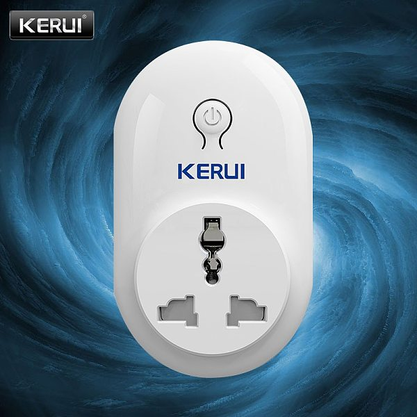 KERUI Smart Socket Digital Radio Frequency Technology Stable Performance Protect Electronic Equipment Wireless Signal Connection