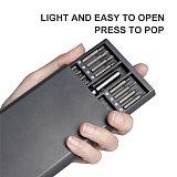 QUK Precision Screwdriver Set 63 In 1 Magnetic Torx Hex Phillips Bits Screw Driver Handle Phone Laptop Repair Hand Tools Kit