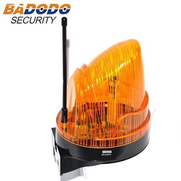 wide voltage 110V AC 220VAC 24VDC LED flashing alarm lamp light blinker strobe for automatic gate opener(no sound)