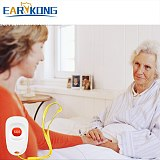 EARYKONG 433MHz Wireless Panic Button Emergency Button Designed For Old man Child Children Compatible With Home Burglar Alarm