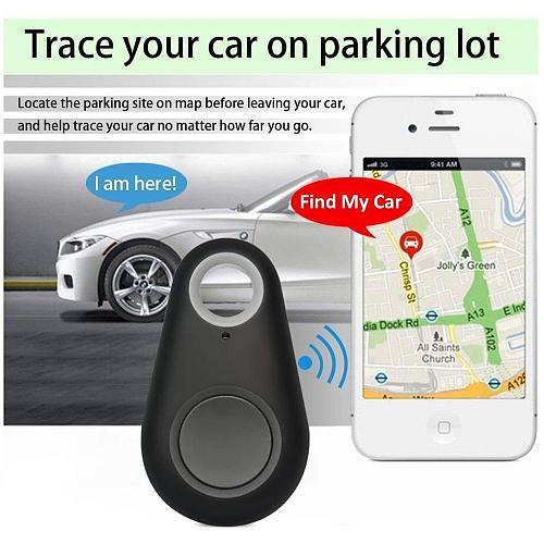 Gps Tracker para perros Bluetooth 4,0 de baja potencia de la caja del teléfono móvil teclas antirrobo alarma inteligente antipér