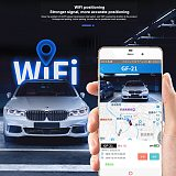GF 09 19 20 21 22 Mini Car Tracker Magnetic Car GPS Locator Anti-Lost Recording Tracking Device Can Voice Control Phone Wifi LBS