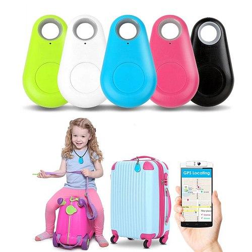 Mini Smart Label Bluetooth 4.0 Loss Tracker Child Elderly Bag Wallet Pet Key Finder GPS Locator Alarm Without Battery