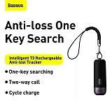 Baseus Intelligent Rechargeable Anti-lost Tracker Wireless Smart Tracker Key Finder Child Bag Wallet Finder Alarm Tag