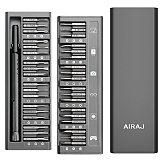 AIRAJ Screwdriver Set Precision Magnetic Screw Driver Kit Torx Hex Bits With Handle Portable Phone Computer Repair Tools