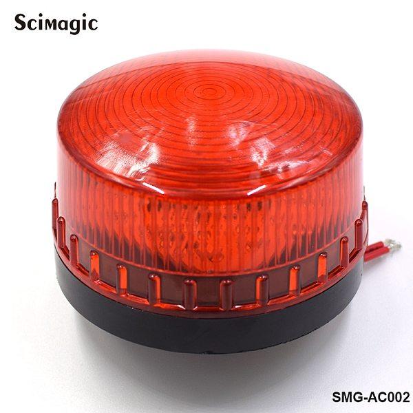 Security Alarm Strobe Signal Warning Light LED Lamp small Flashing Light Signal safety warning light LED-DC 12V 24V indicator li