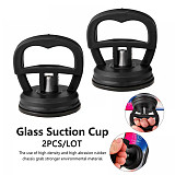 2Pcs Glass Suction Cup PLastic Repair Tools Phone Screen Glass Lifter Car Repair Kit Rubber Suction Sucker Dent Puller Remover