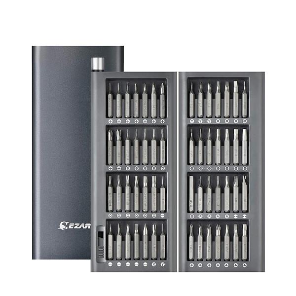 EZARC 57 in 1 Precision Screw driver Set Magnetic Screw Driver Bits Torx Hex Bit Handle Mobile Phone Repair Screwdrive Kit Tools