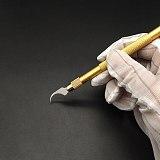 SAYTL Multifunctioal CPU IC Glue Remover Knife Thin blade motherboard BGA chip glue Cleaning Scraping Pry  Repair Knife