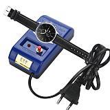 ZJCHAO Watch Demagnetizer Mechanical Quartz Watch Repair Tool Electrical Professional Demagnetize Tool for Watchmaker EU Plug