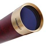 Pirates of The Caribbean 25x30 Telescopio Monocular Telescope Optics Spyglass Nautical Brass Maritime Outdoor Camping Genuine