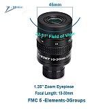 SVBONY 1.25  Zoom Telescope Eyepiece 7-21mm, 8-24mm, 10-30mm Full Metal Barrel and Broadband Multicoating