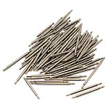 108pcs 8-25mm Stainless Steel Watch Band Strap Spring Bar Link Pins Remover New Silver
