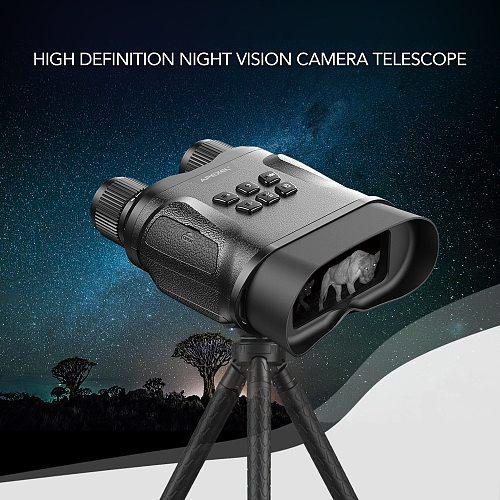 APEXEL 4X HD Digital Night Vision Binoculars Telescope Zoom Scope Waterproof Telescope Night Vision Hunting Binocular Infrared